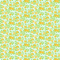 オレンジ_水色