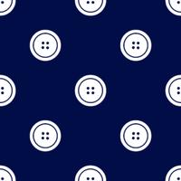 ボタン紺小
